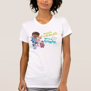 Have Cuddles Will Share Tshirt