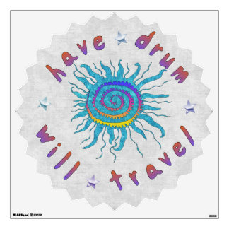 Have Drum Will Travel Wall Skins