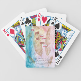 Have faith bicycle playing cards