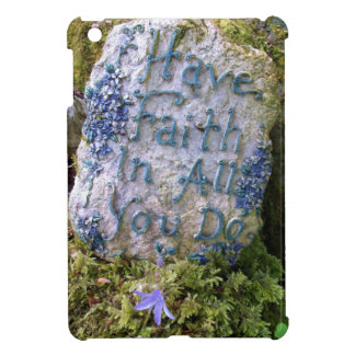 Have Faith in All You Do Inspirational Words Photo iPad Mini Case