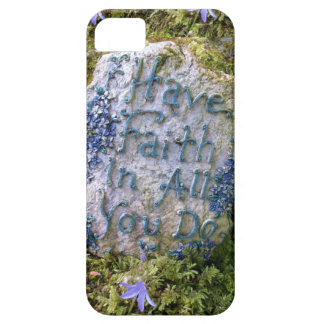 Have Faith in All You Do Inspirational Words Photo iPhone SE/5/5s Case