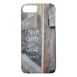 Have Faith in God Bible Verse iPhone 8/7 Case