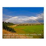 Have faith in your dreams postcard