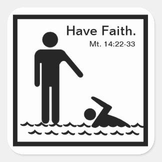 Have Faith Sticker