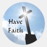 Have Faith Stickers