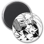 Have fun in your cubicle, I'll be welding! 2 Inch Round Magnet
