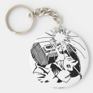 Have fun in your cubicle, I'll be welding! Keychain