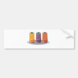 Have fun sewing bumper sticker