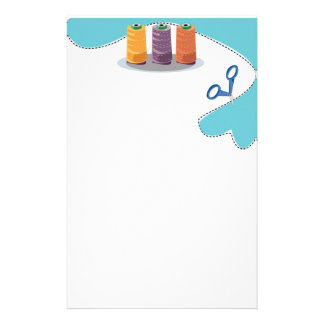 Have fun sewing stationery