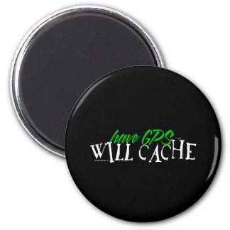 Have GPS - Will Cache Magnet