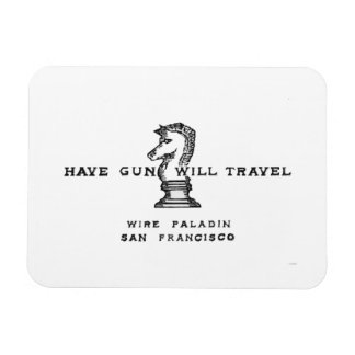 Have Gun Will Travel Magnet