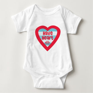 Have Heart Marfan Awareness Baby Bodysuit