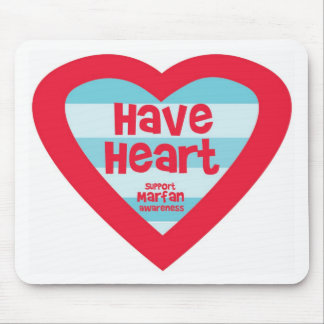 Have Heart Marfan Awareness Mouse Pad