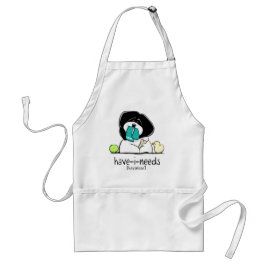 Have-i-Needs Havanese Off-Leash Art™ Adult Apron