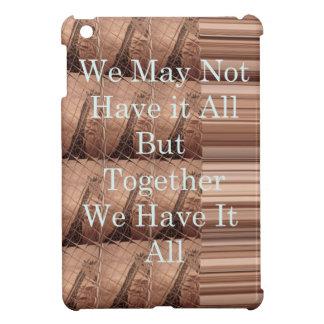 Have it all Giraffe Safari  Hakuna Matata woven so iPad Mini Cases