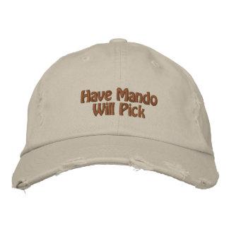 Have Mando Will Pick Embroidered Baseball Cap