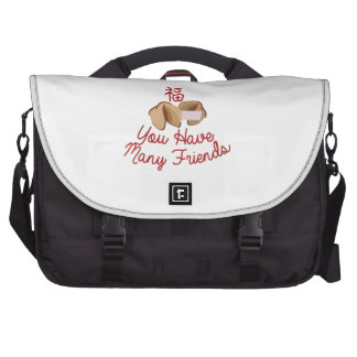 Have Many Friends Commuter Bag