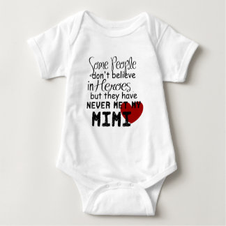 Have never met my mimi baby bodysuit
