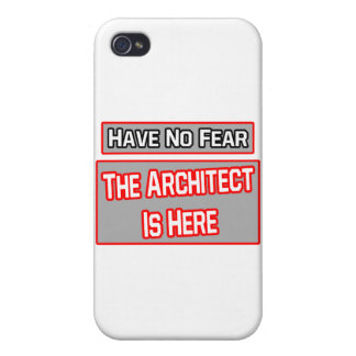 Have No Fear .. Architect Is Here iPhone 4/4S Covers