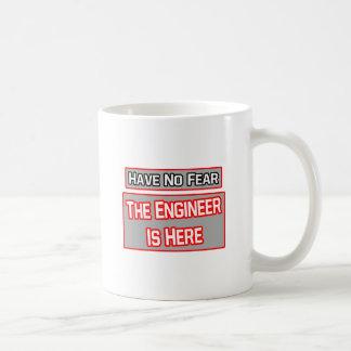 Have No Fear Engineer Is Here Coffee Mug