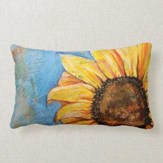 Have No Fear Sunflower Lumbar Pillow