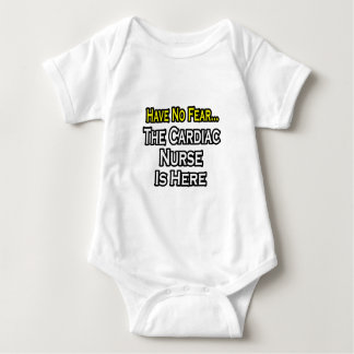 Have No Fear, The Cardiac Nurse Is Here Baby Bodysuit