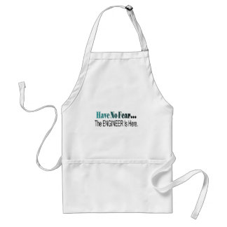 Have No Fear The Engineer Is Here Adult Apron