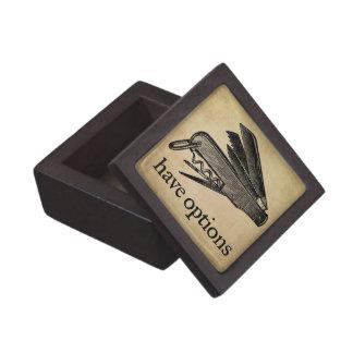 Have Options Gift Box Premium Trinket Boxes