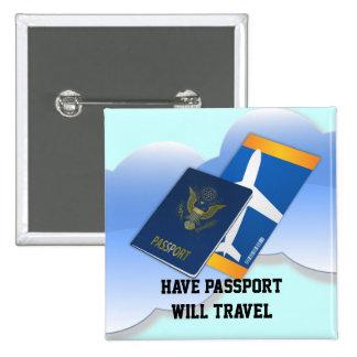 Have Passport, Will Travel Button
