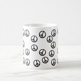 Have Peace-Filled Coffee! Classic White Coffee Mug