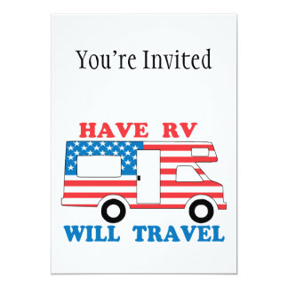 Have RV Will Travel America Card