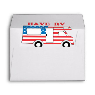 Have RV Will Travel America Envelope