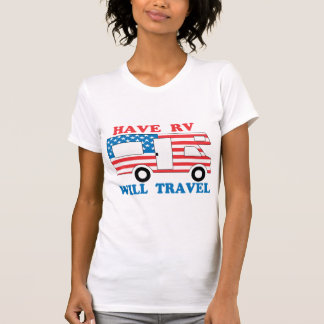 Have RV Will Travel America Tees