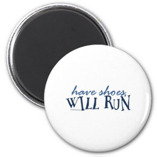 Have Shoes -  Will Run Magnet
