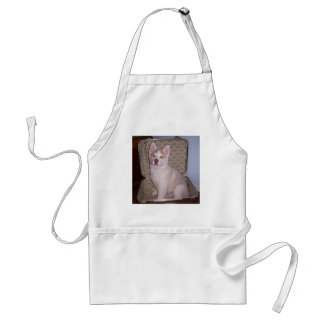 Have Siberian, will travel Adult Apron
