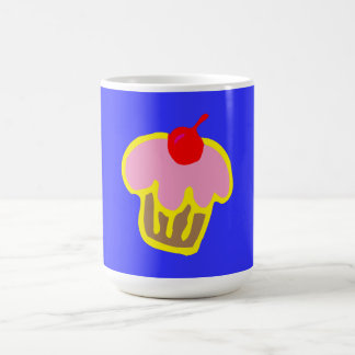 Have Some Coffee with your Cupcake. Classic White Coffee Mug