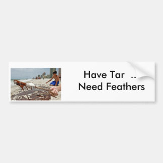 Have Tar  ...Need Feathers Bumper Sticker