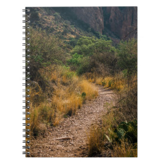Have the courage to walk your own path spiral notebook