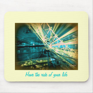 Have the ride of your life mouse pad