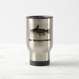 Have You Been Catfished? (Catfish Illustration) Travel Mug
