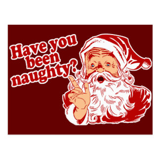 Have You Been Naughty Postcard