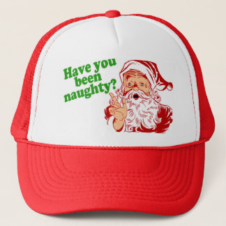 Have you been naughty? trucker hat