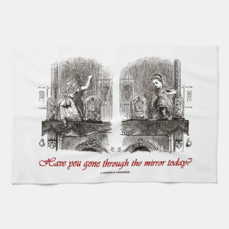 Have You Gone Through The Mirror Today? (Alice) Kitchen Towels