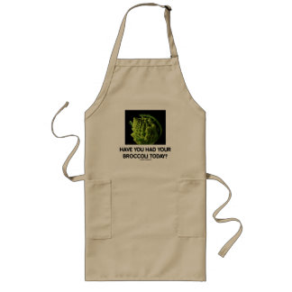 Have You Had Your Broccoli Today? Long Apron
