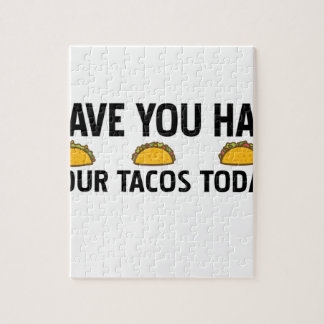 Have you had your tacos today jigsaw puzzle