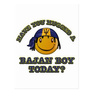 Have you hugged a Bajan Boy today? Postcard