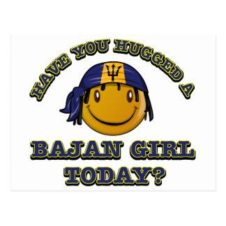 Have you hugged a Bajan gorl today? Postcard