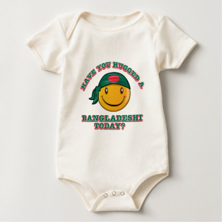 Have you hugged a Bangladeshi today? Baby Bodysuit
