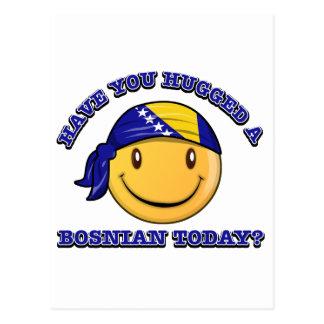 Have you hugged a Bosnian today? Postcard