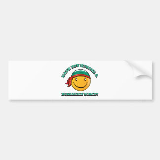 Have you hugged a Bulgarian today? Car Bumper Sticker